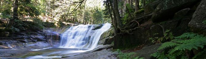 Wasserfälle der Weißen Elbe - Spindlermühle